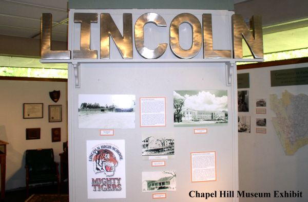 Chapel Hill Museum Exhibit