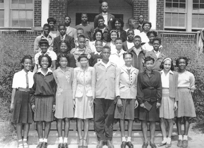Lincoln High Schoool Graduating Class of 1950