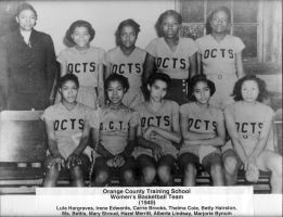 1940 Orange County Training School Women's Basketball Team