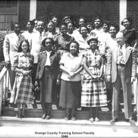 1946 Orange County Training School Faculty