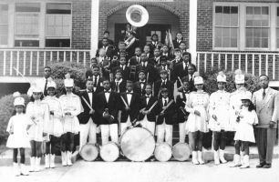 1949 Orange County Training School Band