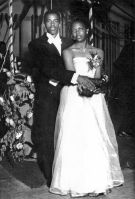 Edwin Caldwell and Esther McCauley - 1952 Senior Prom
